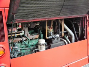 London United Volvo B7TL East Lancs Myllennium Vyking VLE11 engine trouble