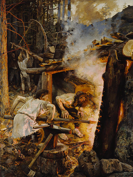 Gallen Kallela's The Forging of the Sampo