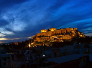 Twilight at the Acropolis
