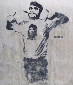 Negation of the Negation - Che wearing a Che t-shirt.