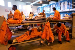 Picture of mass incarceration.
