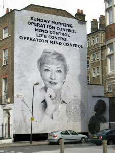 Mural: Sunday Morning, Operation Control, Mind Control, Life Control, Operation Mind Control