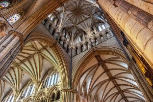 York Cathedral ceiling. Lots of lovely arches.